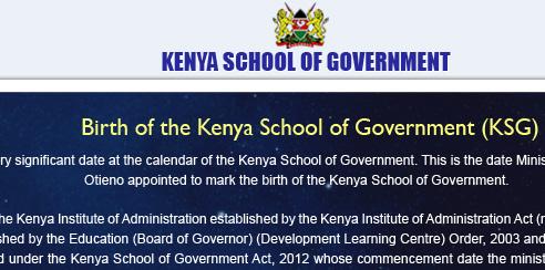 Principal Supply Chain Officer Jobs At Kenya School Of